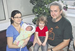 Barbora SVOBODOVÁ z Rokycan se na sále rokycanské porodnice narodila 11. ledna, dvě hodiny a osmnáct minut po půlnoci. Manželé Tereza a Jaroslav si nechali pohlaví dítěte jako překvapení až na porodní sál.vážila při narození 3500 gramů,  měřila 52 cm.