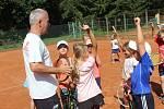 Kemp tenisových nadějí v Rokycanech