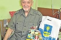 Liblínská gratulace - jubilant Jaroslav Mašek