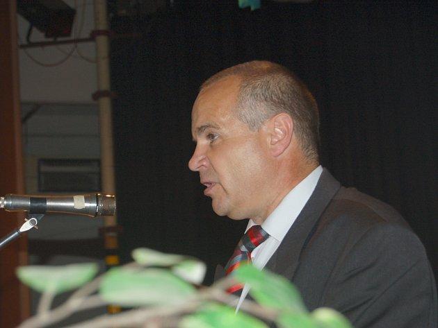 Krajští radní odvolali ředitele Rokycanské nemocnice, a. s., Vladimíra Gabriela (na snímku).