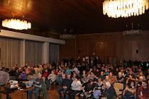 Posluchači zaplnili sál ZUŠ
