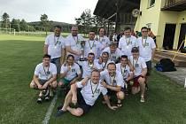 Vítězná sestava FC Těškov