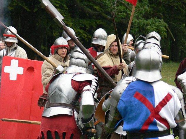 Burgundské války začínají ve Zbiroze v sobotu v 15 hodin.