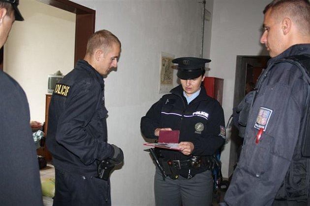Policisté se zaměřili na ubytovny.