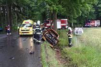 SLOŽKY INTEGROVANÉHO záchranného systému mířily v pondělí po patnácté hodině ke Kakejcovu. Zasahovaly u dopravní nehody, která si vyžádala zranění.