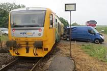 Nehoda u Střapole si naštěstí nevyžádala žádná zranění.