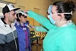Měření a kontroly v nemocnici v Rokycanech