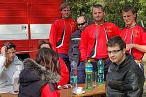 V Kamenném Újezdě se konala hasičská soutěž.