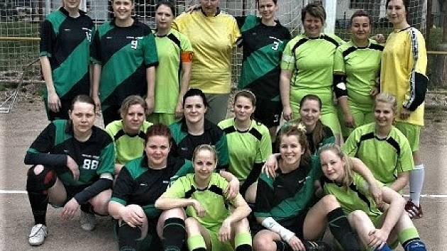 Vzpomínka na období, kdy dobřívské ženy startovaly v oblastním přeboru se dvěma týmy!