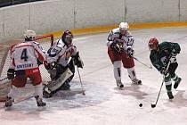 Další vítězství zaznamenali rokycanští prvoligoví junioři HC DAG. Na domácím ledě zdolali Písek těsně 4:3.