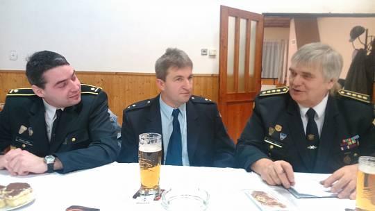 Starostou OSH Rokycany Miroslav Frost (vpravo) na archivním snímku
