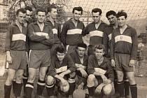 Historické fotografie z Příkosické fotbalové kroniky...