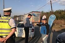 Na řidiče si posvítili policisté v Kařezu. Během kontroly na motoristu s alkoholem v krvi nenarazili.
