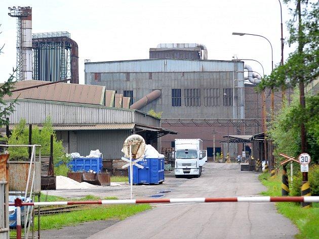 Železárny v Hrádku - ilustrační foto