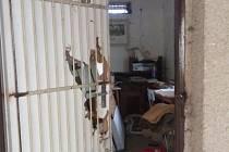 Vandalové řádili v areálu na střelnici