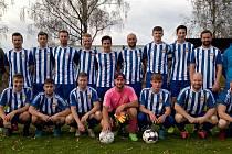 Společné foto hráčů Spartaku