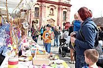 Velikonoční trhy na náměstí Kašpara Šternberka v Radnicích.