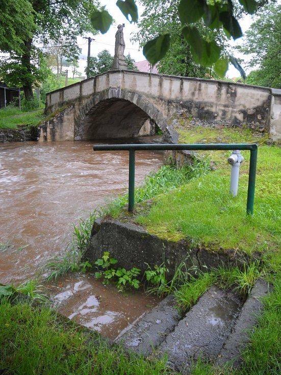 Švédský most v Dobřívu