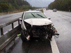 Nedělní nehody na dálnici D5