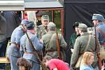 Davy návštěvníků zavítaly v sobotu do Holoubkova na festival páry. Vedle lokomotivy byly k vidění i desítky dalších strojů.
