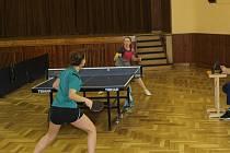 Stolní tenistky v Hrádku