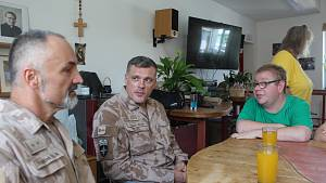 Vojáci podpořili pohodičku
