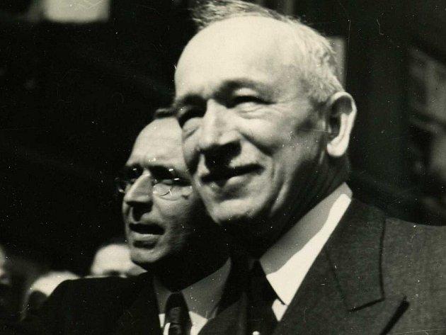 V polovině června 1945 zavítal do Rokycan prezident Edvard Beneš.