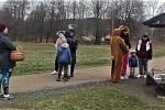 Hrádečtí vyrazili za velikonočním zajícem
