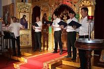 Slavnostní koncert v pravoslavném kostele v Rokycanech