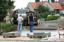 Ulice Ejpovic naplnil stavební ruch.