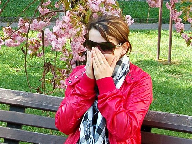 Petra Lizcová potvrzuje, že rozkvetlé stromy jsou nepřítelem všech alergiků.