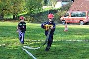 Mladší i starší přípravky hasičů bojovali ve hře Plamen 2017