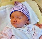 Valerie Kovaříková se narodila 5. prosince v 6:07 mamince Simoně a tatínkovi Zbyňkovi z Radnic. Po příchodu na svět v plzeňské FN vážila jejich dcerka 2960 gramů a měřila 47 cm.