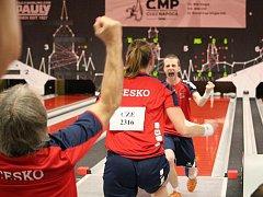 Výstižný obrázek po posledním hodu Jana Endršta na světovém šampionátu hovoří za všechny komentáře.