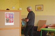 Volby do evropského parlamentu 2019 - volební místnosti pro okrsek 2, 3 a 4.