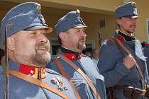 Pořádek na Radnických slavnostech hlídalo dobové vojsko