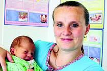 Michal BREI ze Všenic se narodil 19. srpna v 18 hodin a 26 minut. Maminka Petra a tatínek Michal věděli dopředu, že jim ke čtyřletému Štěpánovi přibude druhý chlapeček. Michal vážil 3070 gramů, měřil 48 cm. Tatínek byl u porodu pomáhat.