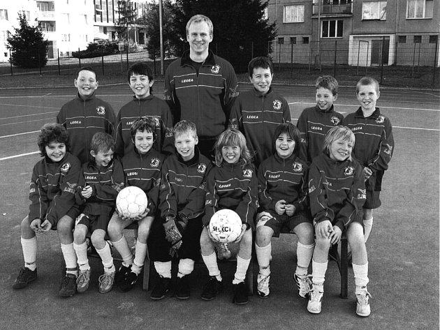 Při fotbalovém turnaji v Husových sadech se prosadili desetiletí Kohouti Rokycany.