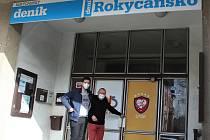 Sportovní a tělovýchovná organizace Rokycanska má při vstupu do objektu v Jiráskově ulici nové označení