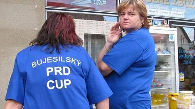 Domácí brali Prd Cup prestižně. Svědčí o tom zamyšlení jedné z místních pořadatelek.