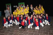 Slavnostní zahájení mistrovství kuželkářů do 18 let.