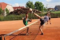 Minule se nohejbalisté z Rokycanska i středních Čech setkali na turnaji v Kornaticích. Finále se týkalo Bušovic a Zaječova
