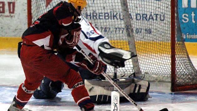 Hokejová juniorská liga dospěla do závěrečného dvoukola. Mladíci HC DAG Rokycany včera od 17.30 hodin přivítali o záchranu bojující Český Krumlov.