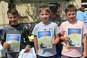 Mladí cyklisté z celého okresu se potkali na soutěži BESIPu. Ti nejúspěšnější si odnesli kromě cen i památeční diplomy.