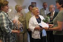 Milouš Dobromysl na archivní fotografii (druhý zprava)