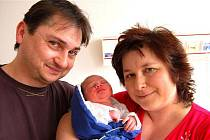 Jan Kroupa z Radnic  se  narodil  na  sále  rokycanské porodnice 14. března  ráno, v 6 hodin a 10 minut. Honzík přišel na svět s mírami 3100 gramů a 51 cm.