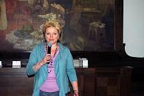 Kromě rokycanského starosty měla úvodní slovo také ředitelka nemocnice Hana Perková.