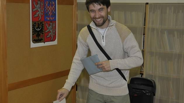 Jiří Vondrášek v Dobřívě