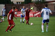TJ Sokol Radnice - TJ Baník Stříbro. Ilustrační foto.