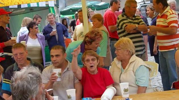Pivní slavnosti ve Zbiroze.
